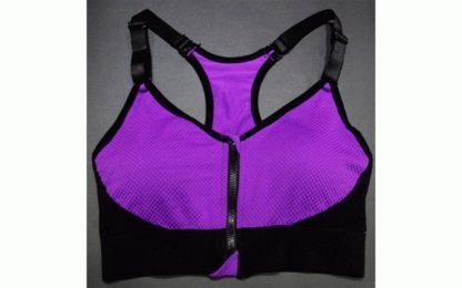 фиолетовый спортивный топик модель