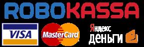 robokassa visa  mastercard Яндекс деньги