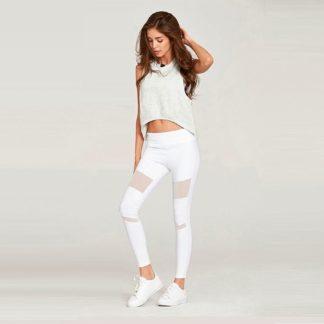 Белые легинсы для йоги 1FP1014WHT фото